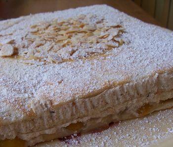 minosa, gâteau mirabelles et noix