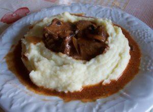 Boeuf au cumin et paprika et sa purée de pommes de terre