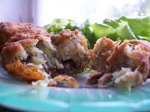 Boulettes de pommes de terre à la viande de boeuf