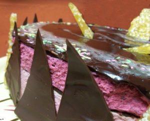 Bavarois framboises, fruits rouges d'Eryn