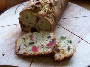 Cake rhum et fruits confits