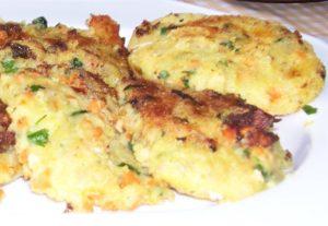 Croquettes pommes de terre et légumes