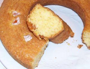 Gâteau bon accueil aux écorces d'oranges