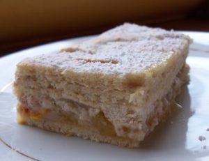 Le Minosa : gâteau mirabelles et noix