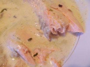 Saumon à l'oseille et sa sauce au Noilly-Prat