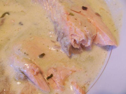 saumon oseille et noilly-prat