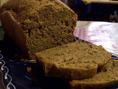 Gâteau d'automne au potimarron