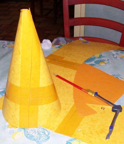 réalisation d'un cône