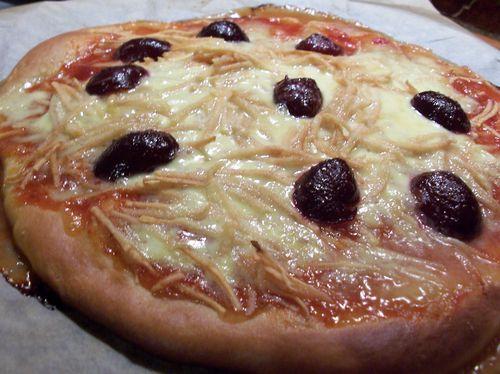 pizza sucrée