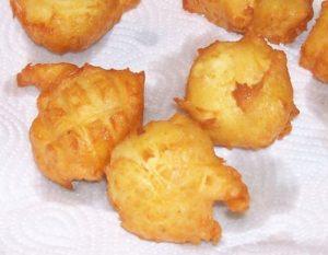 Pommes de terre dauphines