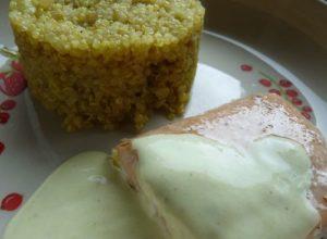 Saumon, Quinoa et épices