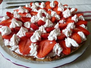 Tarte aux fraises façon Guy Savoie
