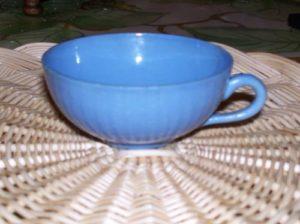 tasse bleue