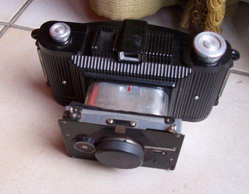 appareil photo à plaques