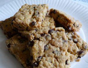 Cookies au chocolat et aux graines