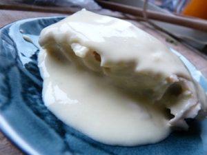 sauce noilly-prat, variante à la bergamote