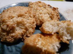 Macarons à la noix de coco (blancs d'oeufs)